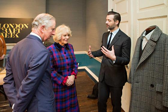 Discussing Tweed with Patrick Grant, Norton & Sons