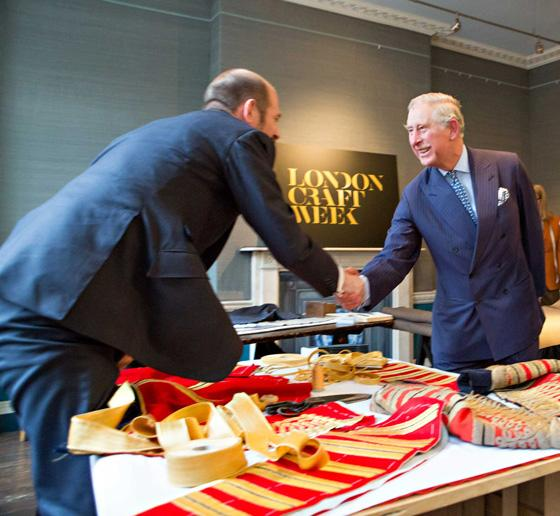 Meeting Keith Levett from Henry Poole & Co