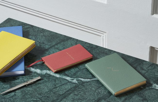 Diary or Notebook Personalisation with Smythson