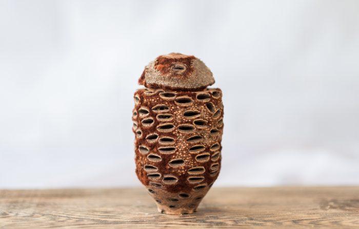 Darren Appiagyei banksia lidded box - LEAD