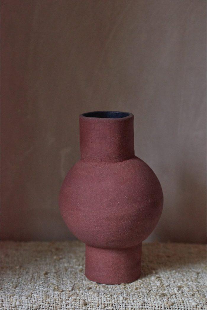 Sarah Maingot - Brick Red Pot