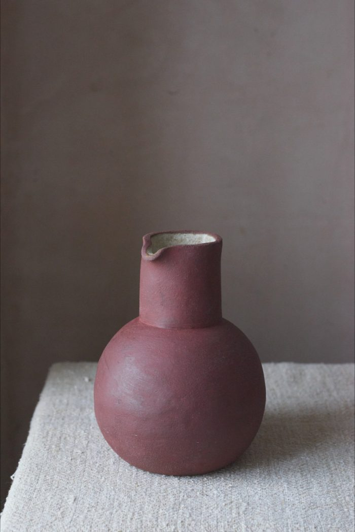 Sarah Maingot - Dark Brick Red Large Pourer