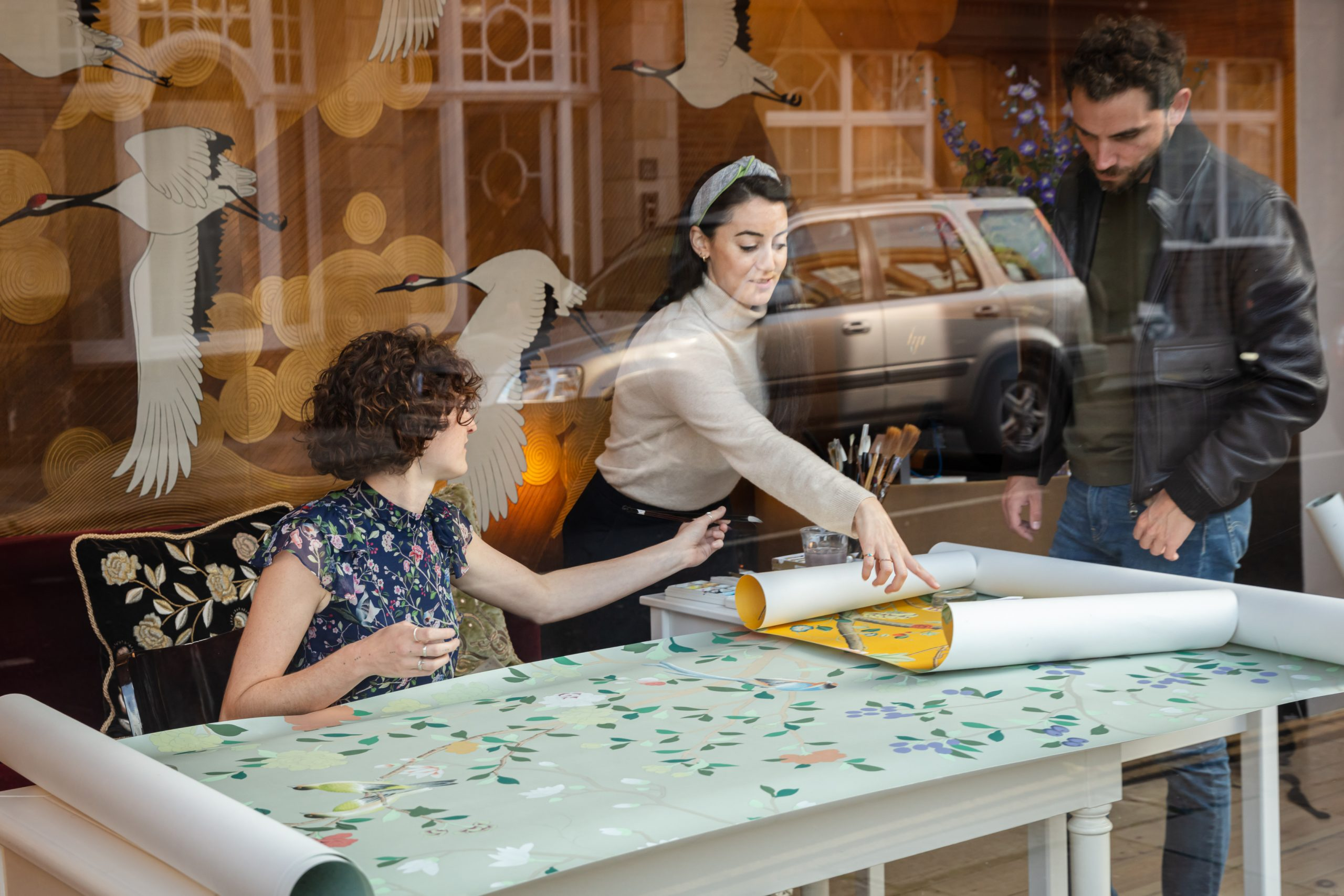 London Craft Week | deGournay | Dan Weill Photography